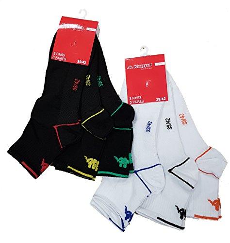 Photos Par 6 2 Et Sport Mode Arrivages Gaufrée Semelle Modèles Technique Kappa Homme Confort 3 Chaussettes Tige assortiment Selon apZz4a