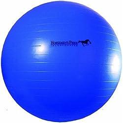 Horsemen's Pride Mega Ball Horse Toy, Blue, 30-inch