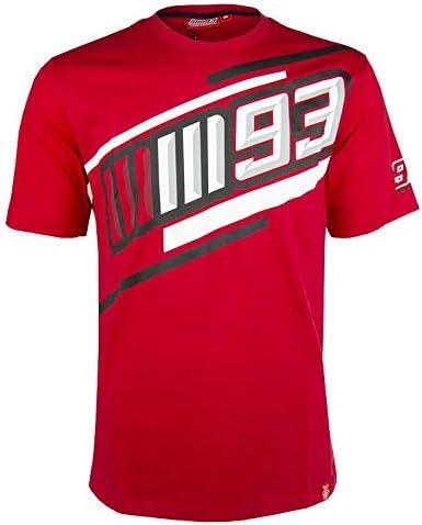 Marc Marquez 2019 MotoGP 93 - Camiseta para hombre (100% algodón, tallas S- XXXL), color rojo, rojo, Mens (XXL) 120cm/47 inch Chest: Amazon.es: Deportes y aire libre