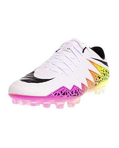 Nike Hypervenom Phinish AG-R, Botas de Fútbol para Hombre Blanco (Blanco (White/Black-Total Orange-Volt))