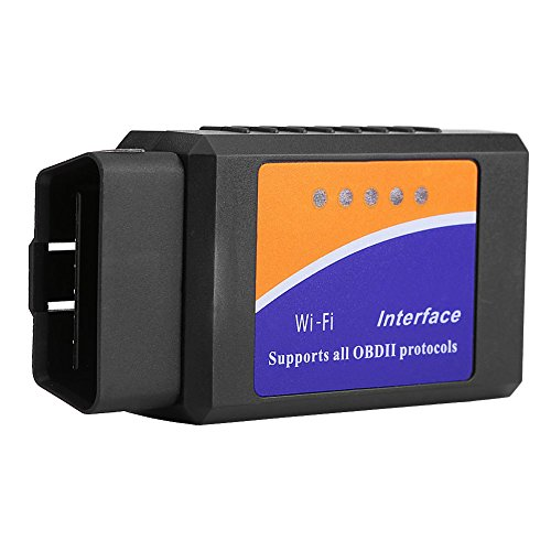 Qiilu Super Mini Wireless WiFi V1.5 OBD2 OBDII Car Auto Diagnostic Scanner Tool for iPhone Android by Qiilu (Image #6)