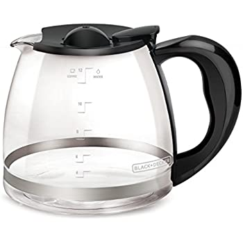 Amazon Medelco 12 Cup Millennium Style Carafe Black GL312