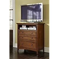 A-America WSLCB5740 Westlake Media Chest, Cherry Brown Finish