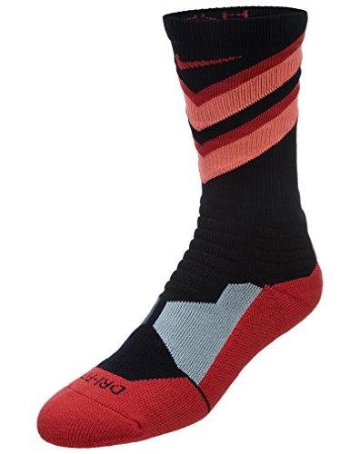 Lava Nike Unisex Hyperelite Crew Black Lava Elite nbsp;calzettoni hot Socks Hyper Chase nbsp;– S TwBTgnqP