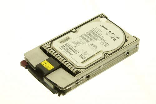 HP 104663-001 18.2GB universal hot-plug Wide Ultra2 SCSI hard drive - 7,200 RPM - Includes 1-inch, 80-pin drive tray
