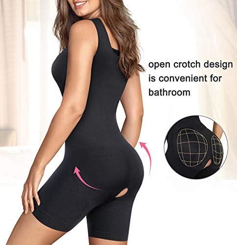 Gotoly Shapewear for Women Scoop Neck Tank Tops Bodysuits Jumpsuits Waist Trainer Full Body Shaper 4