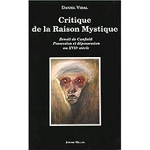 Critique de la raison mystique: Benoît de Canfield