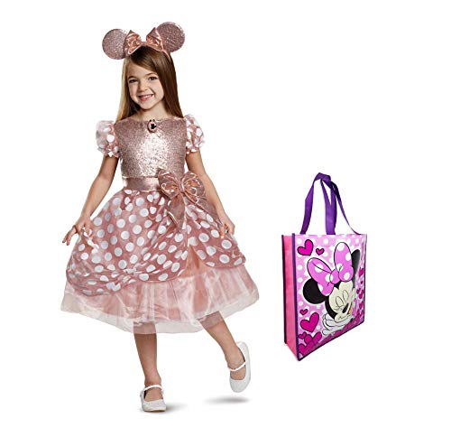 (Minnie Mouse Rose Gold Size 3T-4T Costume)