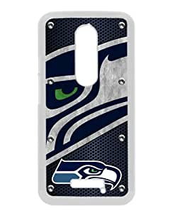 Seattle Seahawks 04 White Recommended Picture Custom Motorola Moto X 3rd Generation Case