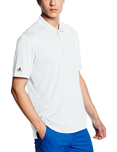 Polo Courtes Adidas Manches Homme Performance Blanc O5WWv71q