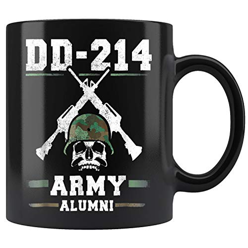 DD-214 US Army Alumni Veteran Armed Forces Mug Coffee Mug 11oz Gift Tea Cups 15oz