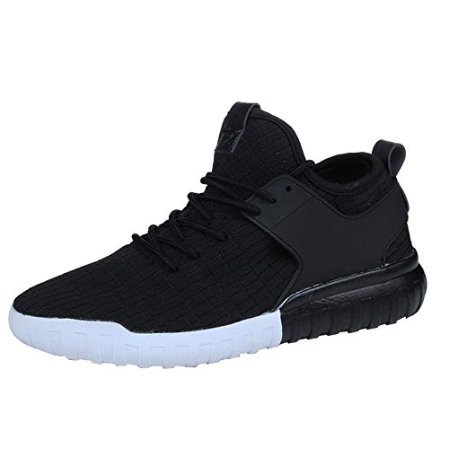 Sneakers White Casual Breathable Woven Sport Shoes Shoes Couples Black 39 JERFER Red Shoes Black 45 Women XxOqxCwS