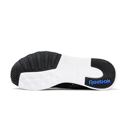 Reebok Heren Zoku Runner Hm Sneaker Zwart / Vitale Blauw / Vicieuze