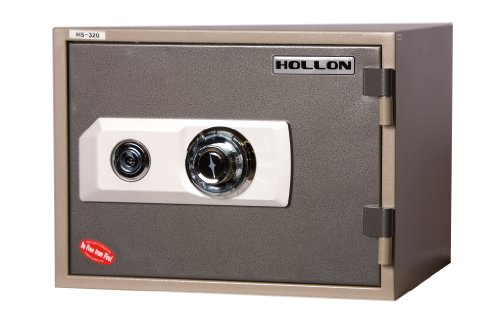 Hollon HS-310D 2 Hour Fireproof Home Safe