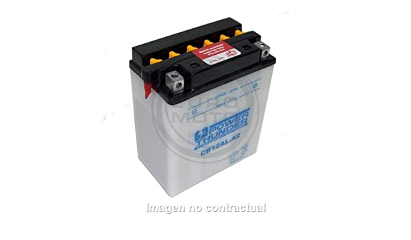 Power Thunder - Batería CB12AL-A2 (c/Ácido) [0612411P ...