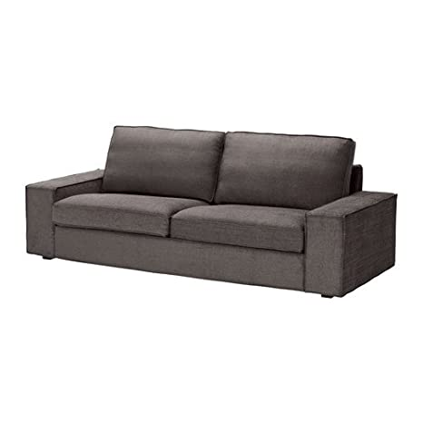 IKEA KIVIK - Cubierta sofá de tres plazas, Tullinge gris ...