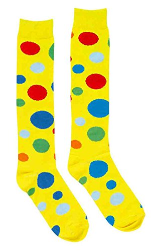 Adult Polka Dot (Knee High Socks - Clown Polka Dot)