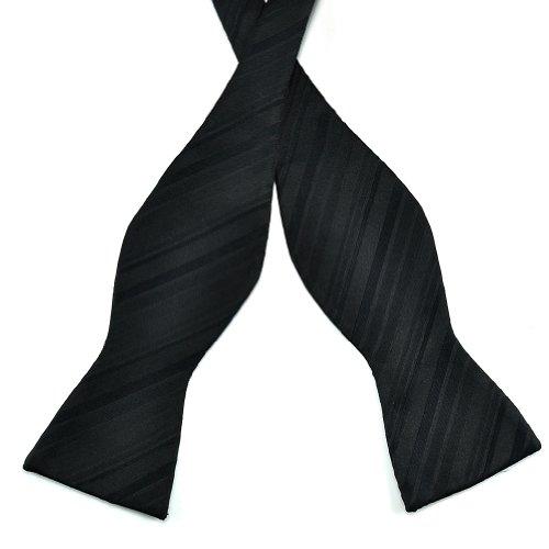 Black Jacquard Silk Tie - 8