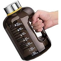 BOTTLED JOY Half Gallon Water Bottle Leak Proof 74oz Durable Large Water Jug Wide Mouth BPA Free Drinking Hydro…