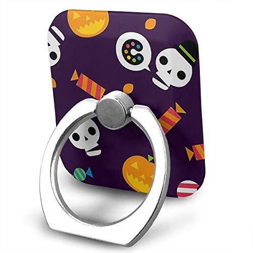BLDBZQ Cell Phone Ring Holder Halloween Wallpaper Holiday Finger Grip Stand Holder 360 Degrees Rotation Compatible with iPhone Samsung Phone Case -
