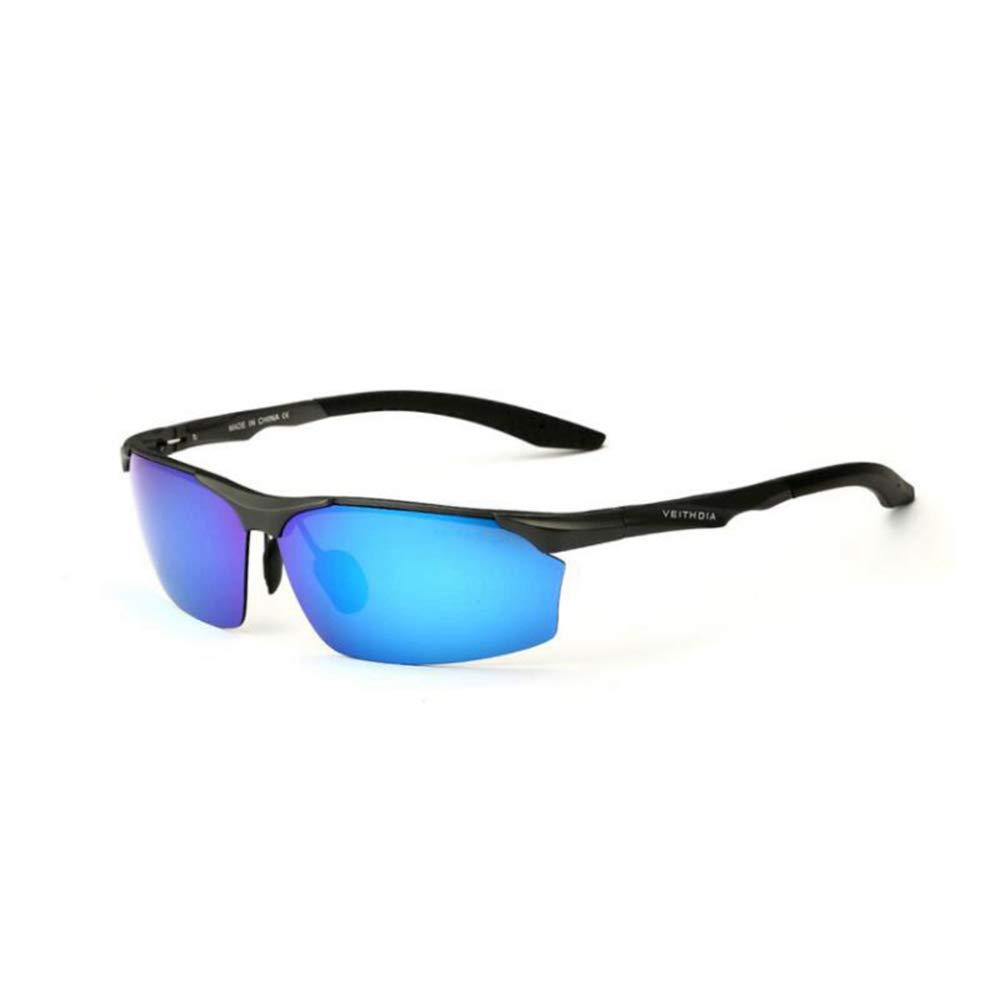 Defect Mans Aluminio magnesio Color película Reflectantes polarización Gafas de Sol Pesca Driver Especial Gafas de Sol para Conducir: Amazon.es: Jardín
