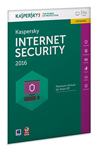 Kaspersky Internet Security 2016 Upgrade - 3 PC...