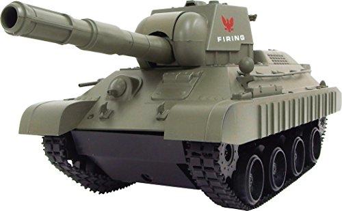 連結可動式 キャタピラ R/C BATTLE TANKラジコン 戦車 おもちゃ 子供 (3886グリーン)