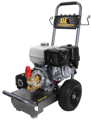 BE B E Pressure B389HA Gas Powered Pressure Washer, GX270...
