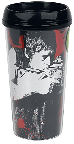 AMC The Walking Dead Daryl Dixon Crossbow Travel Mug by JUST FUNKY by JUST FUNKY