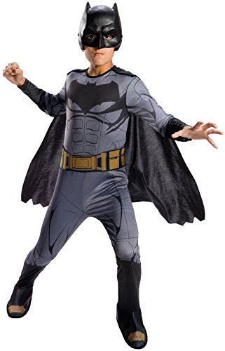 4 Man Group Costumes (Rubie's Costume Boys Justice League Batman Costume, Small, Multicolor)
