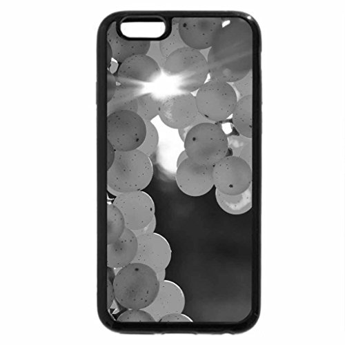 iPhone 6S Plus Case, iPhone 6 Plus Case (Black & White) - Autumn Grapes