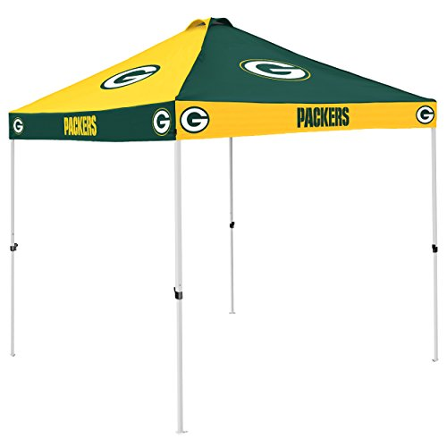 NFL Green Bay Packers Checkerboard Tent Checkerboard Tent, Hunter, One Size by Logo Brands
