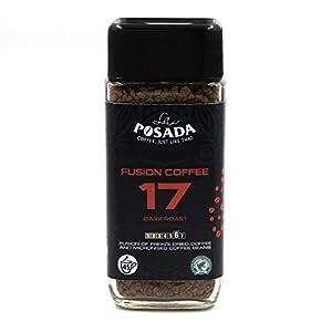 La Posada Velvet Dark, Caffè finemente macinato 5%, liofilizzato, confezione da 3 x 90 g
