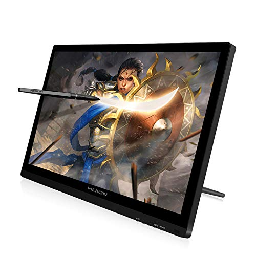 Huion GT-191 KAMVAS Drawing Tablet with HD Screen 8192 Pressure Sensitivity - 19.5 Inch (Huion H420 Usb Graphics Drawing Tablet Board Kit)