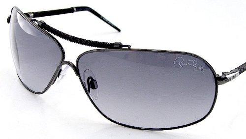 Amazon.com: Roberto Cavalli anteojos de sol RC 298 731 metal ...