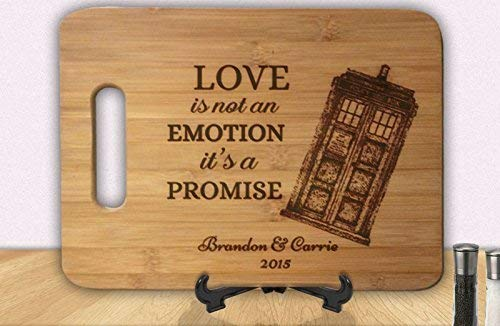Doctor Who inspired Personalized Cutting Board