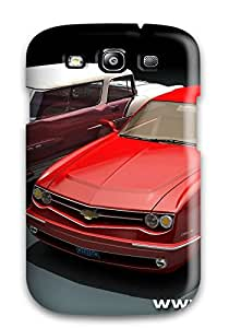 Imogen E. Seager's Shop PAYUB4CSRWQ1OMFH Perfect Fit Chevrolet Impala Red Grey Silver Cars Other Case For Galaxy - S3
