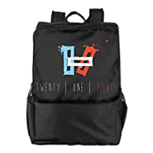 Twenty One Pilots Logo World Tour Polyester Outdoor Backpack Bag
