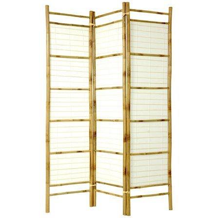 Amazon.com: Oriental Muebles 6 ft. Tall Burnt bambú con ...