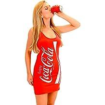Coca-Cola Coke Red Tunic Tank Dress