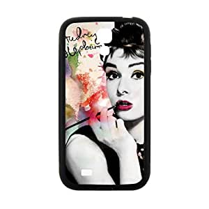 DASHUJUA Audrey Hepburn Brand New And Custom Hard Case Cover Protector For Samsung Galaxy S4