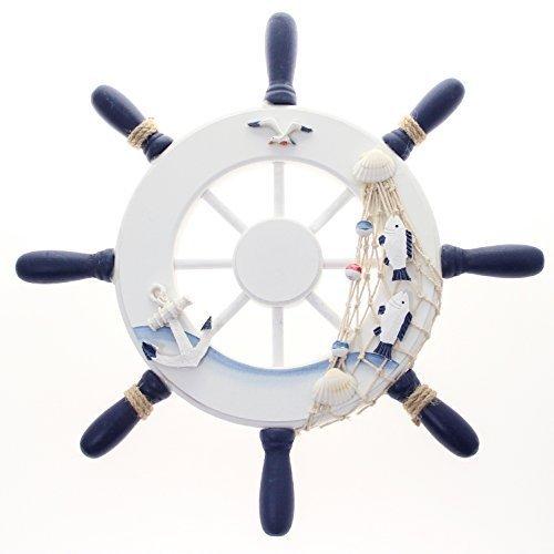 Nautical Wooden Ship Wheel 12