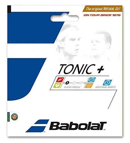 Babolat Tonic+ Ball Feel 15L Natural Gut Tennis String - Natural Gut Tennis String