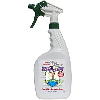 Amazon Com Cedar Bug Free Flea And Tick Spray For Dogs