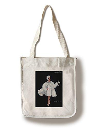 Josephine Baker costume design Vintage Poster (artist: Bertaux) France (100% Cotton Tote Bag - Reusable, Gussets, Made in (France National Costume For Kids)