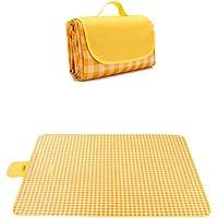 7WUNDERBAR Picknickkleed 200 x 200 cm stranddeken picknickmat campingdeken strandmat buiten waterdicht, zandafstotend…