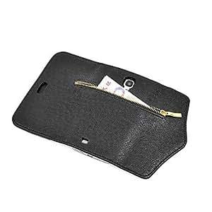 MOFY-Caso cereza chocolate dise–o de la cubierta de TPU durable y mini soporte de exhibici—n con el enchufe del polvo de diamante para el iphone 5 / 5s
