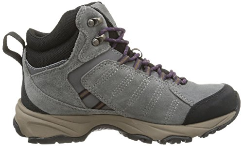 Timberland Translite FTP_Tilton Mid GTX - Zapatos con cordones de cuero para mujer Gris