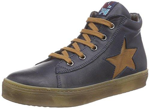 Naturino 3964 Jungen Hohe Sneakers Blau (Blau  9101)