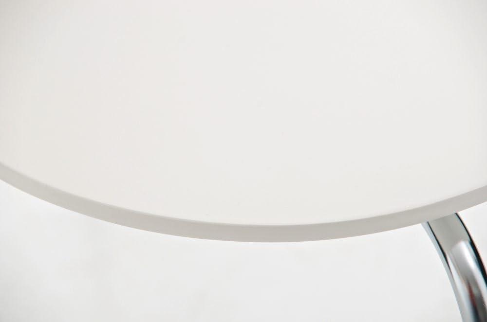 Azul Claro CLP Set De 8 Sillas De Comedor Apilable Diego I 8 Sillas De Conferencia con Asiento De Madera I 8 Sillas De Cocina con Base De Metal I Color